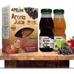 Aronia Juice 200ml (Gratis Apple Juice 200ml)