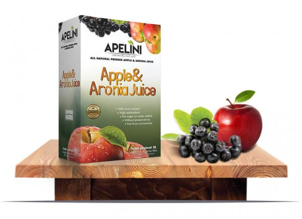 Aronia & Apple Juice 2L