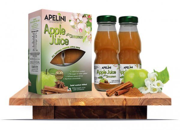 Apple Juice with Cinnamon 400ml
