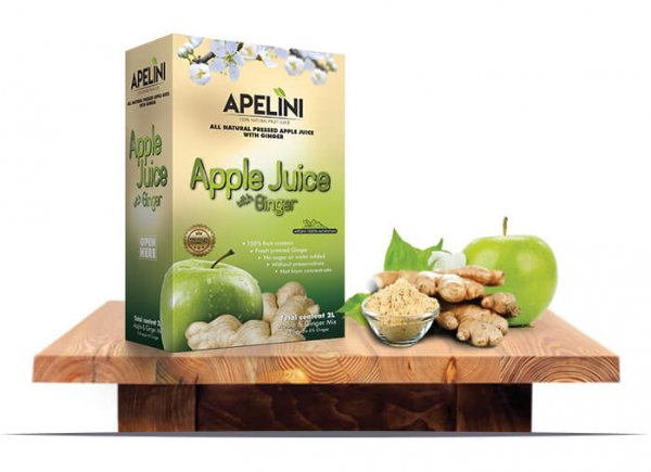 Apple Juice with Ginger 2L