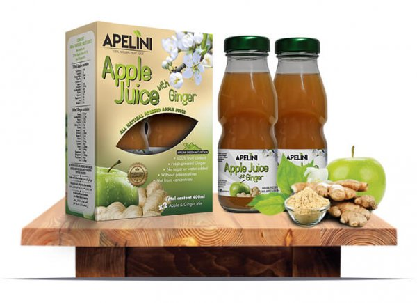 Apple Juice with Ginger 400ml