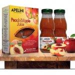 Peach & Apple Juice 400ml