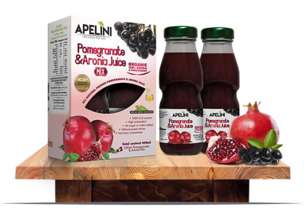 Pomegranate & Aronia Mix 400ml
